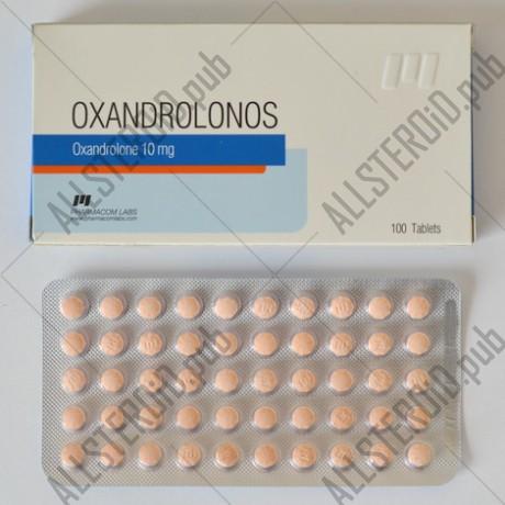 Oxandrolonos 10mg, PharmaCom
