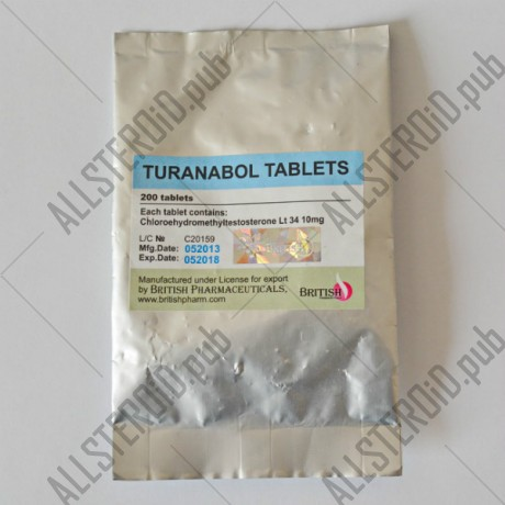 Turanabol 10 mg (British Pharma)